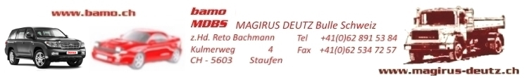 BAMO - Motorenbau Schweiz